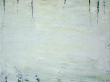 """Riverbank"", 40 x 50 cm, oil on canvas, 2009"