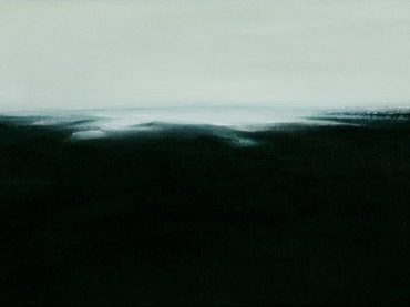 """Coastal landscape"", 25 x 50 cm, oil on canvas, 2010"