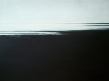 """Coastal landscape"", 100 x 150 cm, oil on canvas, 2011"
