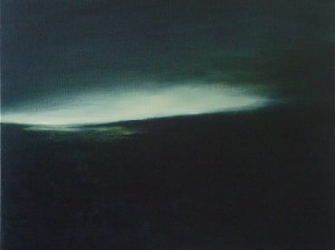 """De dageraad"", 50 x 60 cm, oil on canvas, 2011"