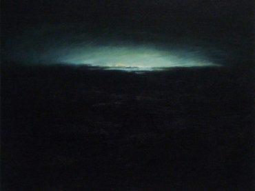 """""""De dageraad"""", 50 x 60 cm, oil on canvas, 2011"""