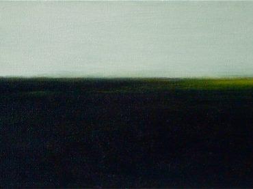 """Noordland"", 15 x 30 cm, oil on canvas, 2011"