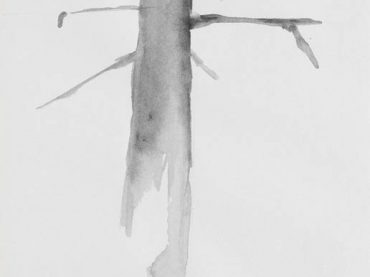 """Tree"", 25 x 20 cm, pencil & ink on paper, 2006"