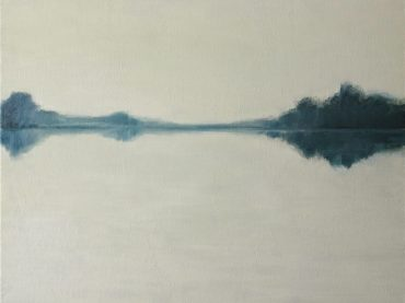 """The river"", 40 x 50 cm, oil on canvas, 2013"