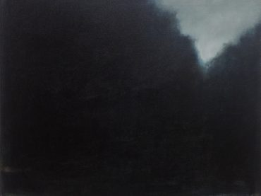 """Woods"", 38 x 46 cm, oil on canvas, 2013"