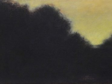 """Evening falls"", 25 x 50 cm, acrylics on canvas, 2013"