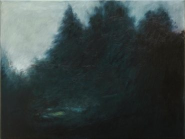 """Woods"", 60 x 80 cm, oil on canvas, 2014"
