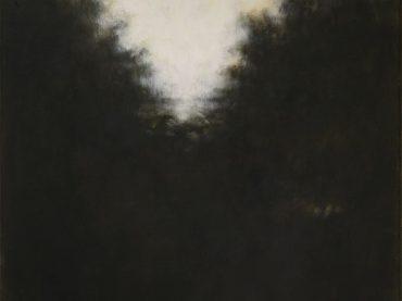 """""""De stilte van de tijd I"""", 60 x 50 cm, acrylics on canvas, 2016"""