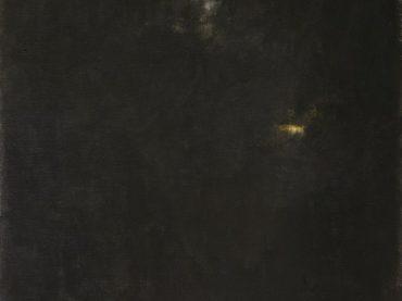 """""""De stilte van de tijd II"""", 60 x 50 cm, acrylics on canvas, 2016"""