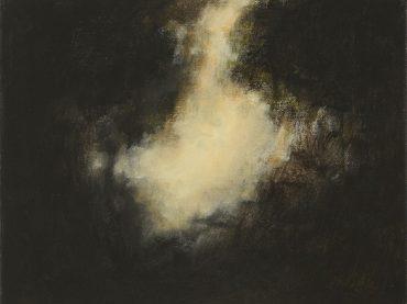 """""""Het laatste licht"""", 24 x 30 cm, acrylics on canvas, 2016"""