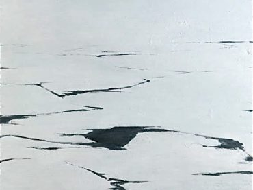 """Waterlines (Invierno)"", 120 x 100 cm, oil on canvas, 2006-2007"