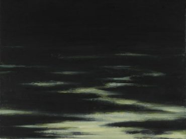 """Waterlines"", 60 x 60 cm, oil on canvas, 2007-2008"