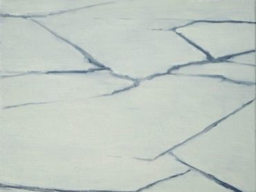 """Waterlines (Invierno)"", 60 x 50 cm, oil on canvas, 2008"