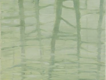 """Waterlines"", 40 x 50 cm, oil on canvas, 2008"
