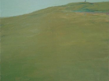 """Cap Blanc Nez"", 40 x 50 cm, oil on canvas, 2008-2009"