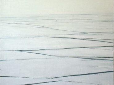 """Zuiderzee"", 120 x 100 cm, oil on canvas, 2010"