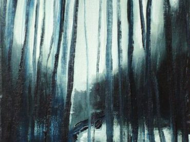 """Woods"", 30 x 24 cm, oil on canvas, 2009"